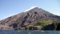 Sarychev Peak volcano